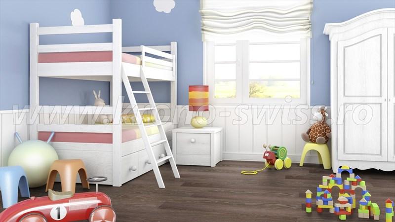 KronoSwiss D2462WG -Swiss Solid - Barrique Oak - Dormitor