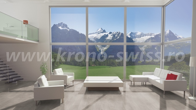 Kronoswiss Solid Chrome Interlaken Oak D4202CP-c