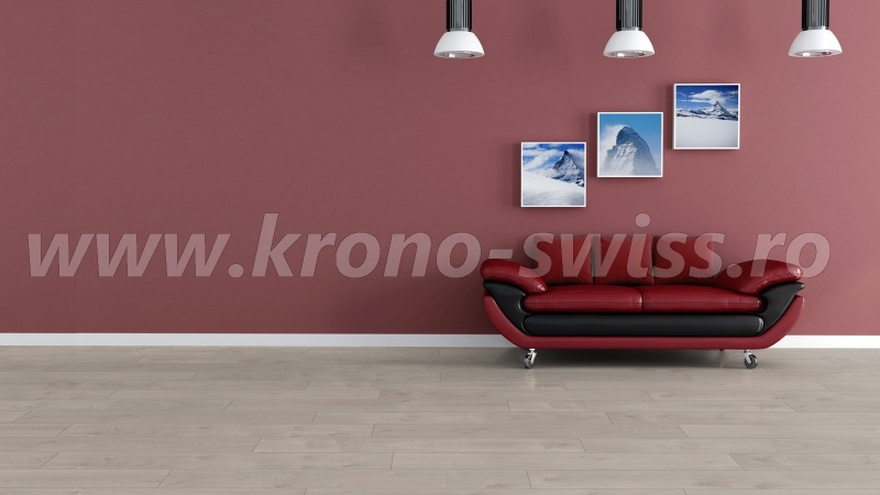 Kronoswiss Solid Chrome Interlaken Oak D4202CP-e