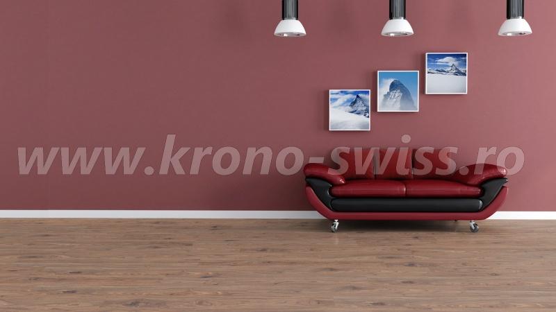 Parchet Elvetian Kronoswiss Walnut Bronze CR3214-g