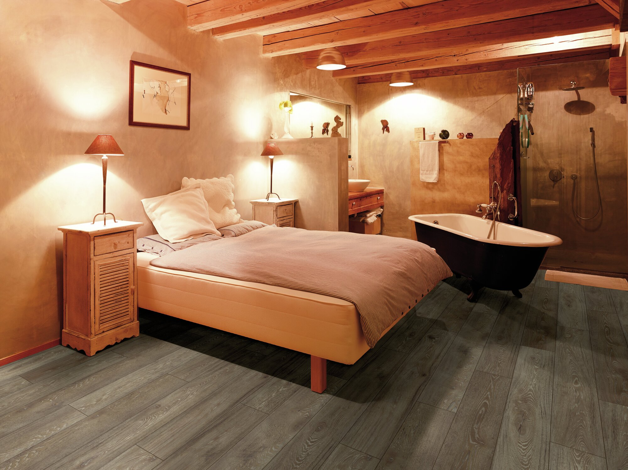 Parchet laminat Swiss Krono Grand Selection Pure Oak Beaver CR 4190