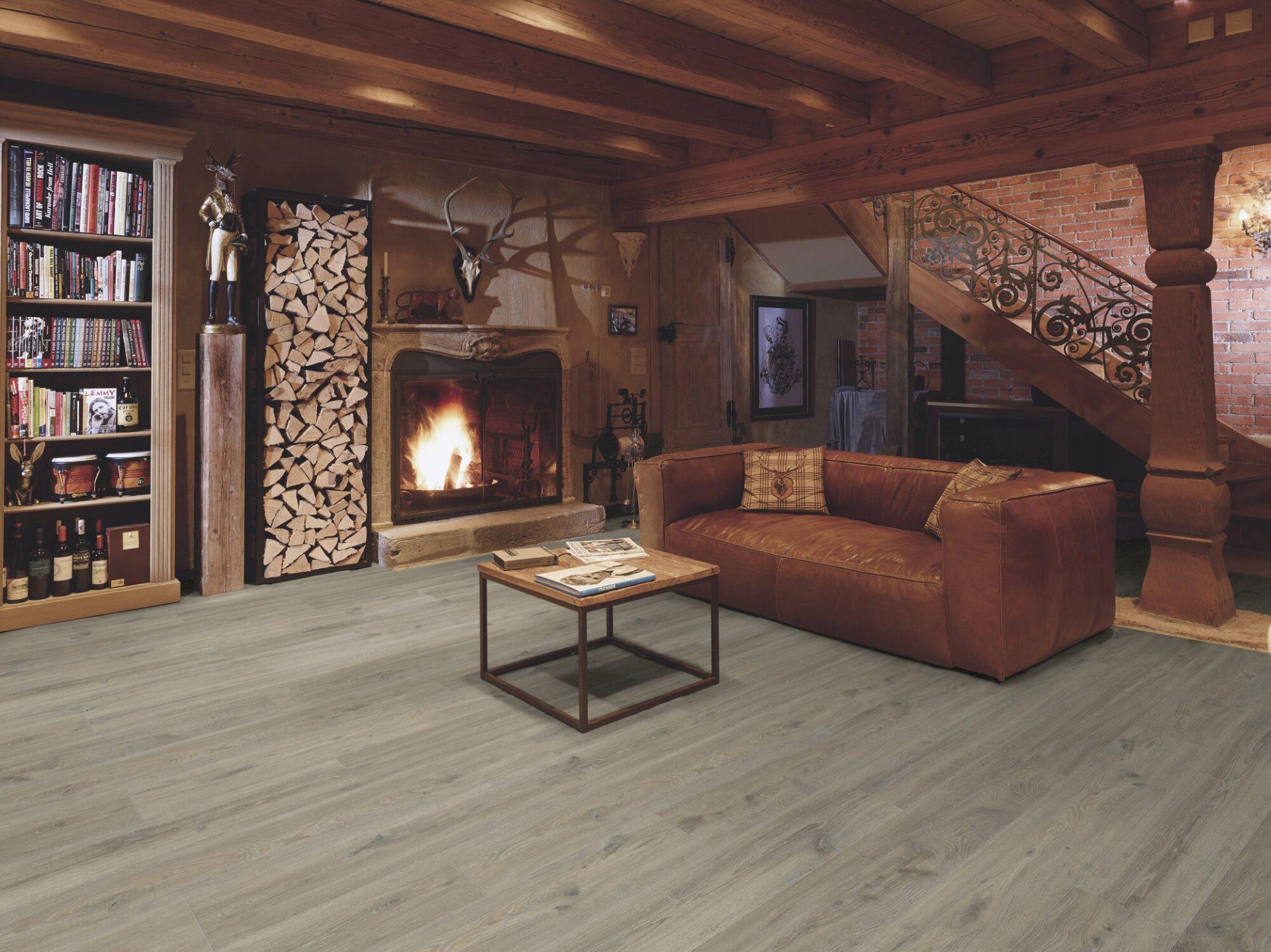 Parchet laminat rezistent la apa Swiss Krono Evolution D4513 Sandstone Oak